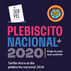 Tarifas Plebiscito 2020